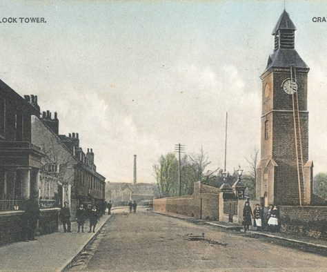 The Clock Tower, Crayford, c.1904 | Bexley Local Studies & Archive Centre