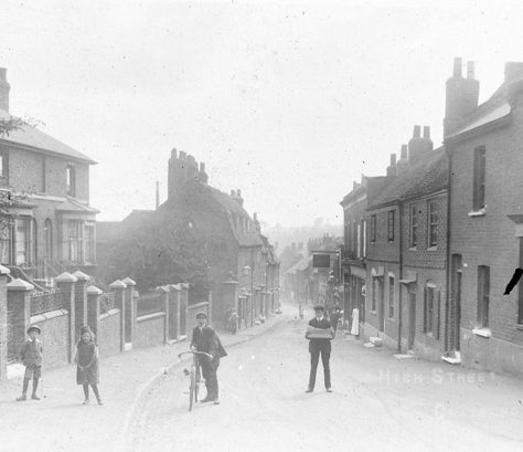 Crayford High Street, c.1902 | Bexley Local Studies & Archive Centre