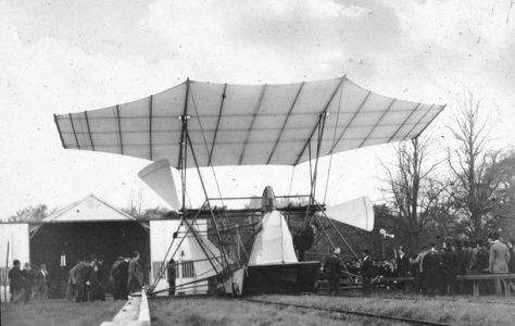 Maxim's Flying Machine