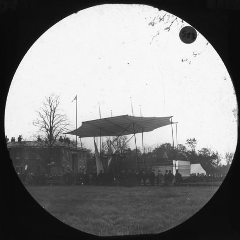 Maxim's Flying Machine, c. 1894 | Bexley Local Studies & Archive Centre