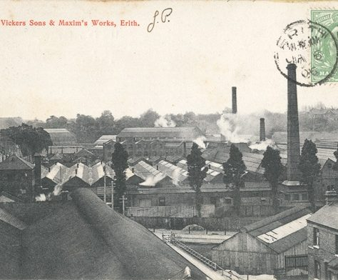 Messrs Vickers, Sons & Maxim's Works, Erith c. 1912 | Bexley Local Studies & Archive Centre