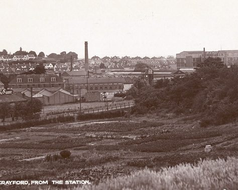 New Crayford from the station, c. 1928 | Bexley Local Studies & Archive Centre