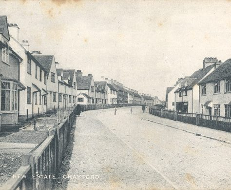 New Estate, Crayford, c. 1917 | Bexley Local Studies & Archive Centre