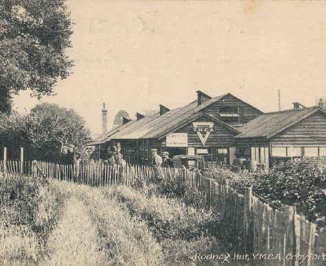 Rodney Hut YMCA, Crayford, c. 1915 | Bexley Local Studies & Archive Centre