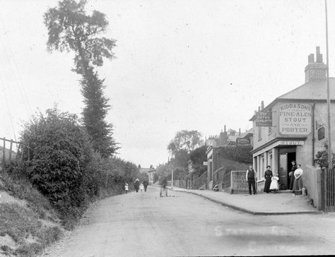 Station Road, Crayford c. 1900 | Bexley Local Studies & Archive Centre