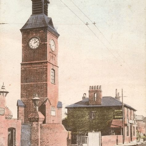 The Clock Tower, Crayford c. 1907 | Bexley Local Studies & Archive Centre