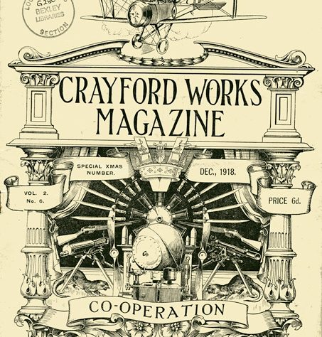 Crayford Works Magazine, 1918 | Bexley Local Studies & Archive Centre