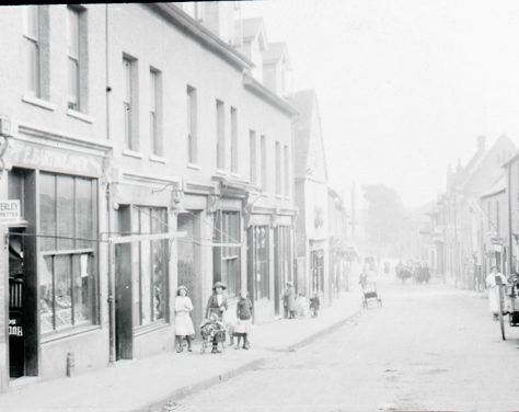Crayford High Street, 1905 | Bexley Local Studies & Archive Centre