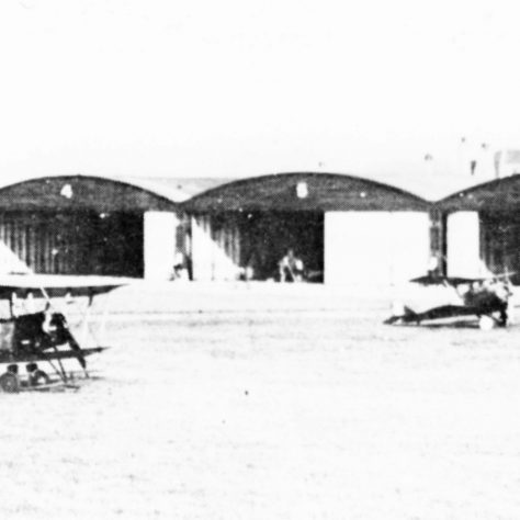 Joyce Green had 6 hangars situated beside the river behind the Long Reach Tavern | Royal Air Force Museum