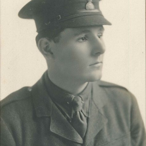 2nd Lt Deighton Simpson taken at Sandhurst Military College 1915 | Harvard University