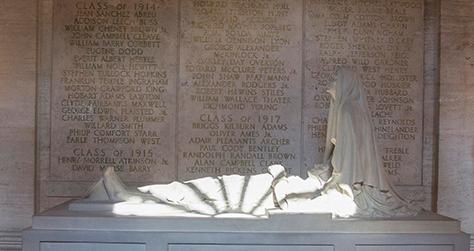 Harvard University Great War student memorial | Harvard University