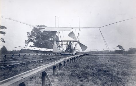 Hiram Maxim's Amazing Flying Machine