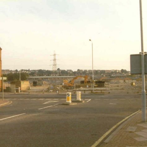 Start of the demolition and rebuilding of a new retail park,1998