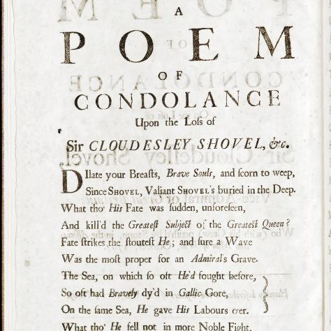 Page 2 of the Condolence Poem.