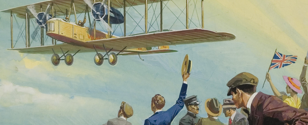 Discover a magnificent town and its flying machines
