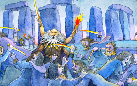 Meet the Anglo-Saxon warrior who conquered Crayford
