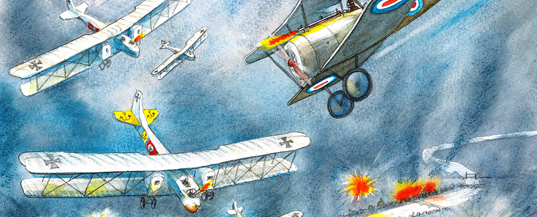 Pay your respects to a First World War flying ace