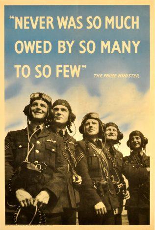 RAF Battle of Britian Few Poster | Imperial War Museum