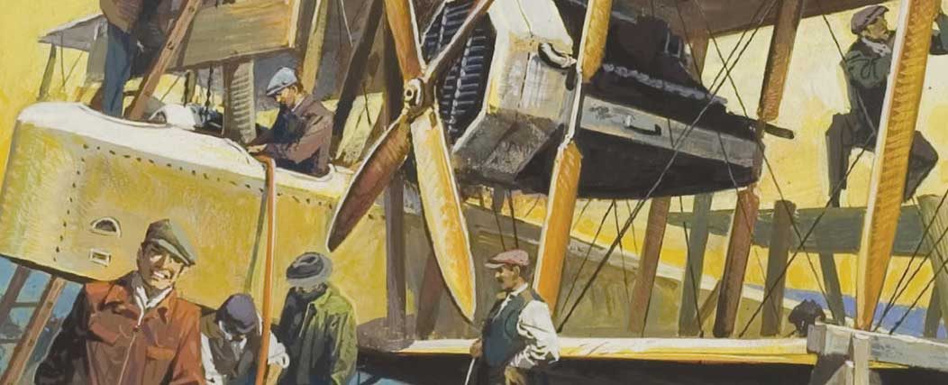 Meet the men who first flew across the Atlantic